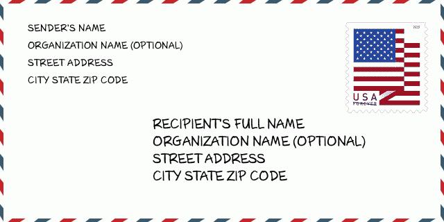 Adresse usa fake Random Address